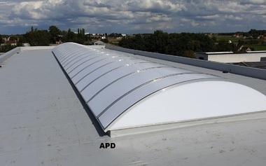 APD - Industriële daken